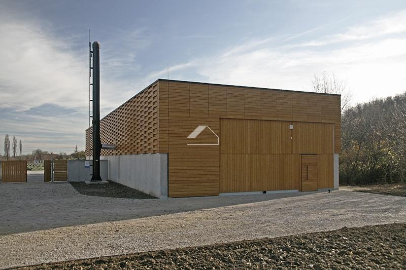Biomassza fűtőmű faipari munkái